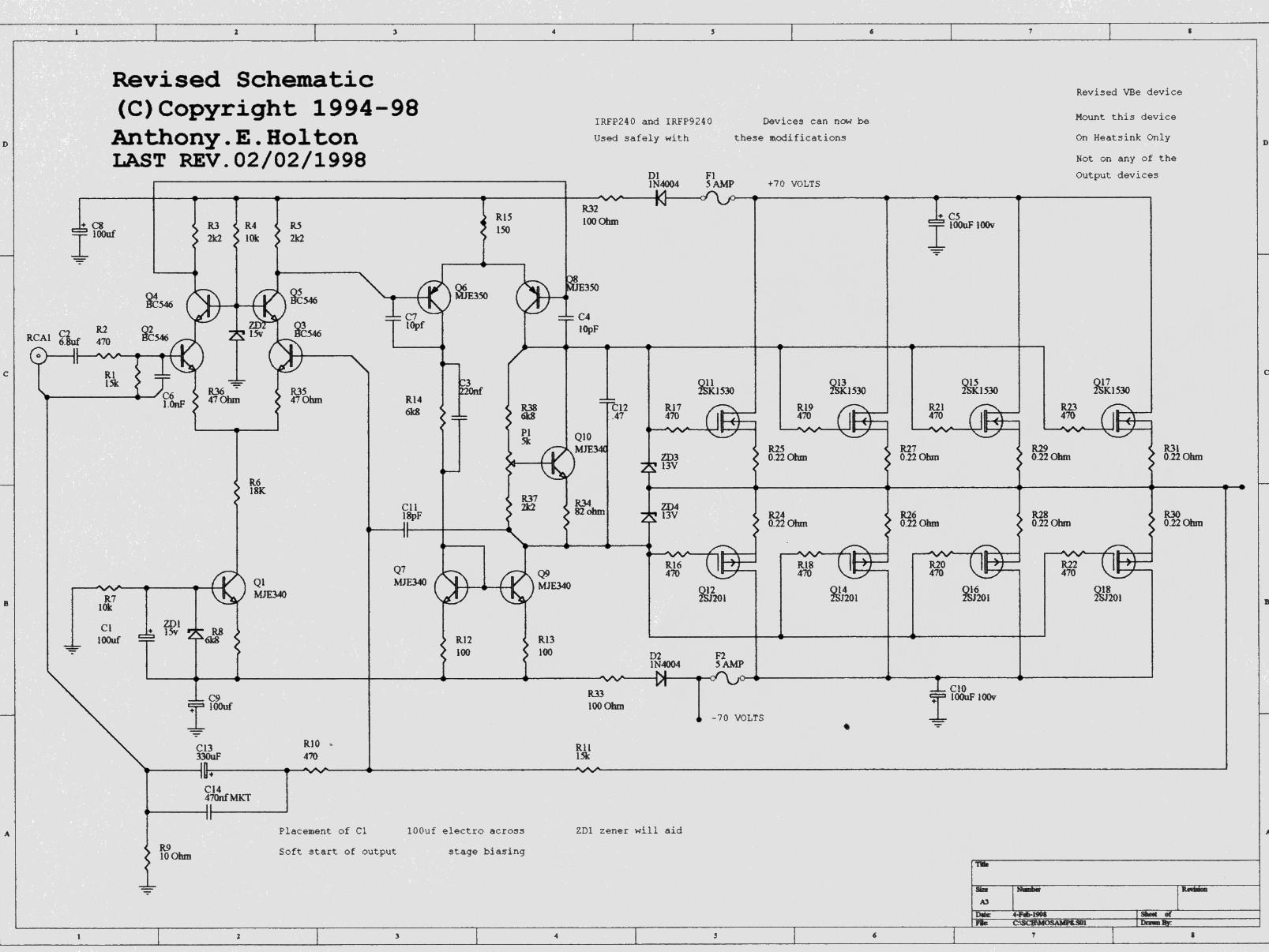 Schemi Elettrici Hi Fi : Amplimos one stage amplifiers amplificatori audio monostadio