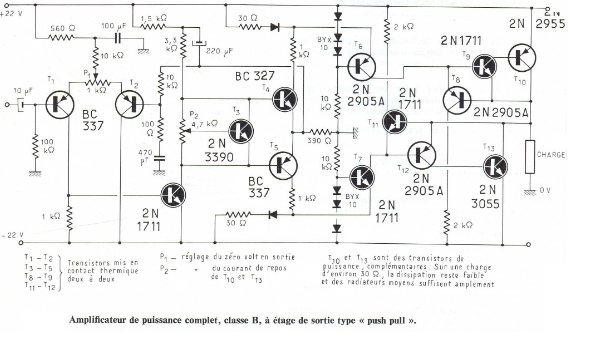 schematic diagram yamaha p7000s amplimos one stage amplifiers, amplificatori audio monostadio wiring diagram yamaha at 1 #12