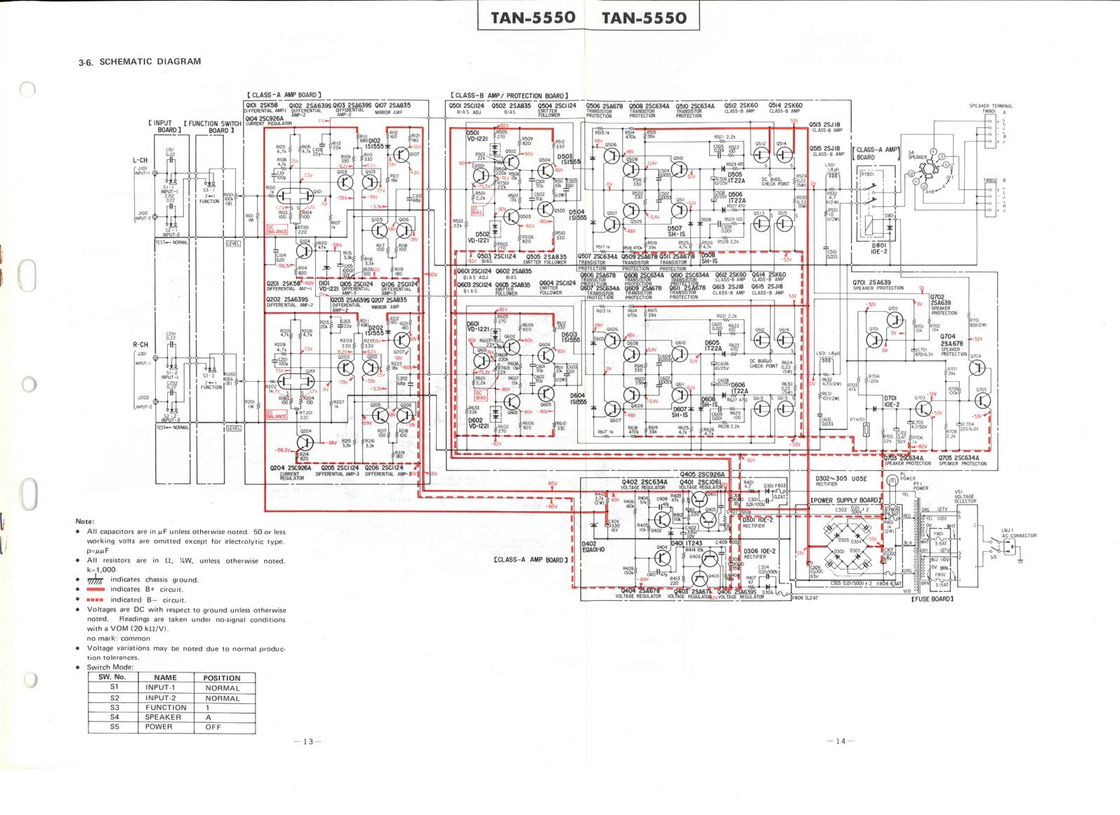 Amplimos One Stage Amplifiers Amplificatori Audio Monostadio 20w Stereo Amplifier Circuit Diagram Diagrams Free Service Manual